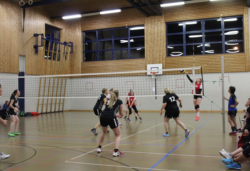 Wintermeisterschaft Volleyball Turnerinnen